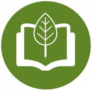 natural environment and education icon