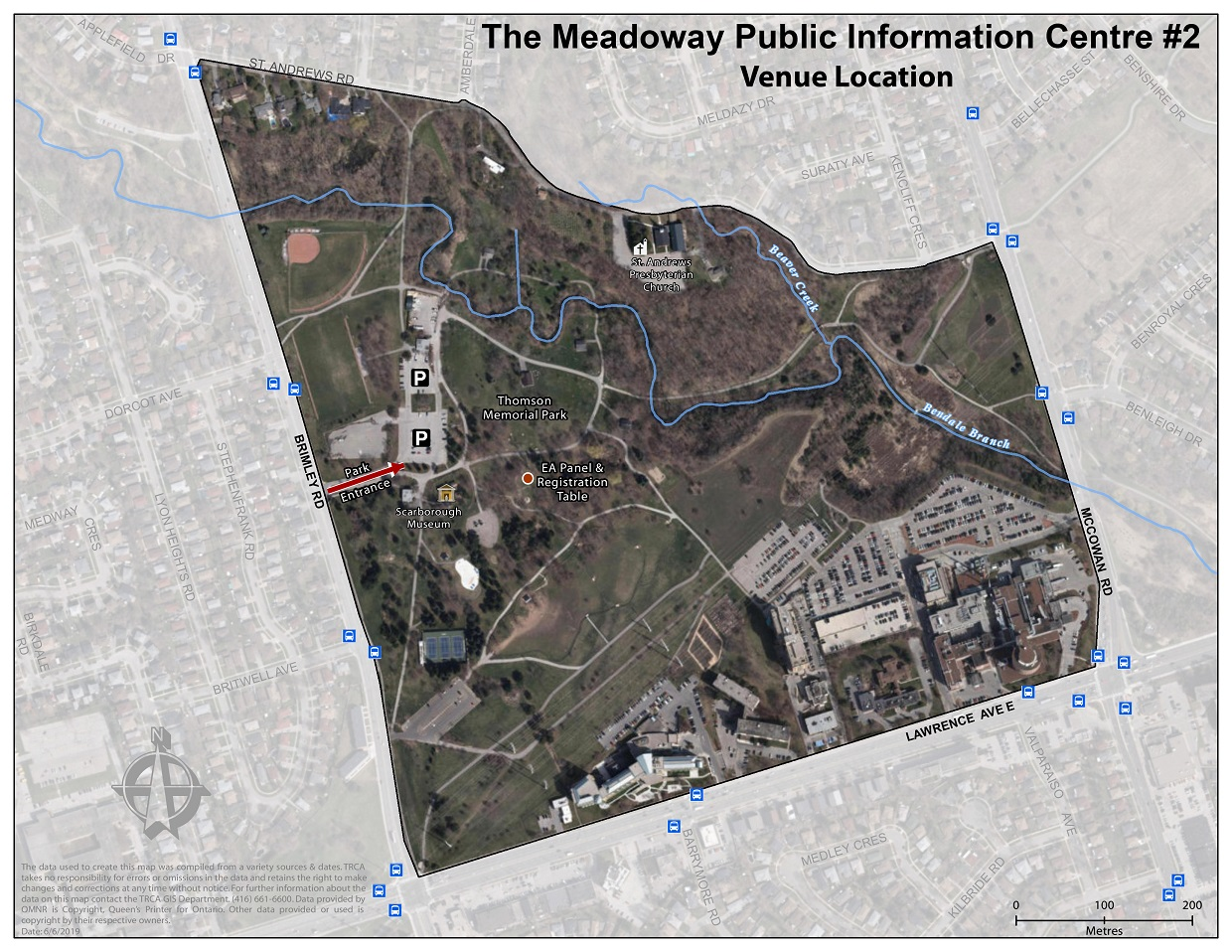 map of The Meadoway PIC 2 location