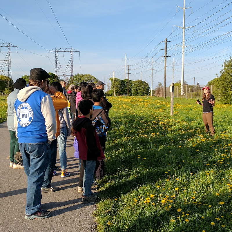 TRCA staff member leads community learning program in The Meadoway
