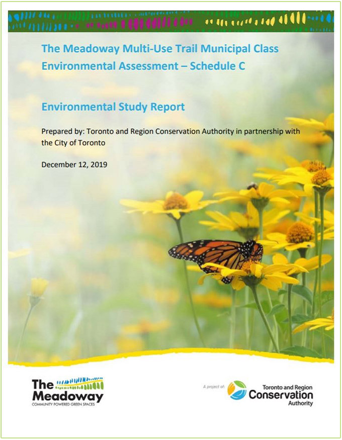 cover page of The Meadoway Environmental Study Report