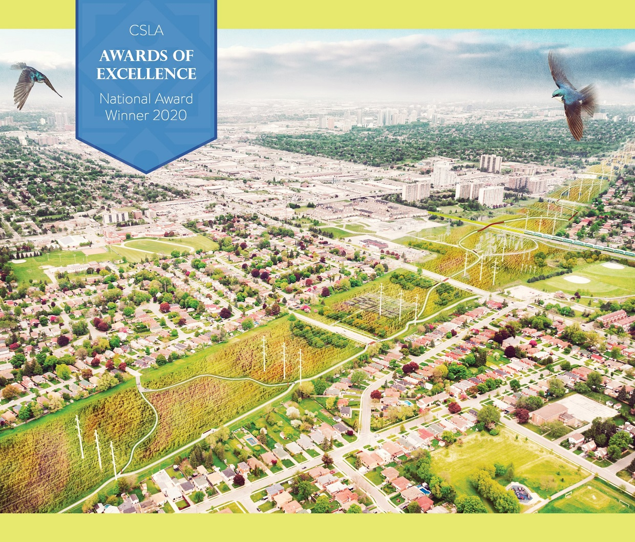The Meadoway received a 2020 Canadian Society of Landscape Architects award of excellence for its visualization toolkit